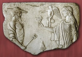 Hermes y Afrodita