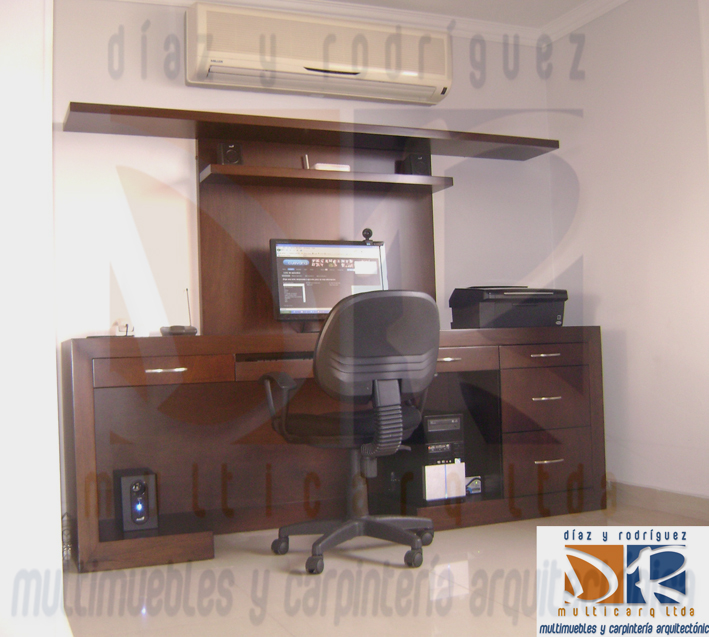Mueble para tv y escritorio - Mueble escritorio ...