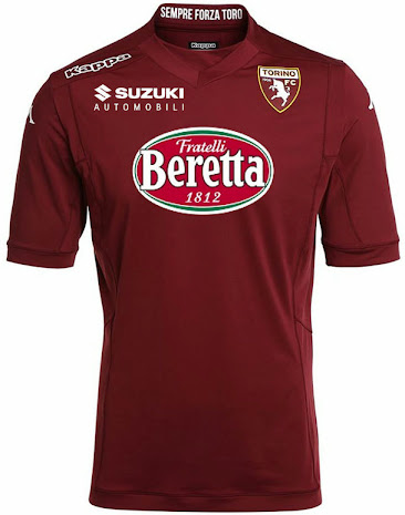 Torino fc 14 15 home away and third kits released footy for Kit tornio