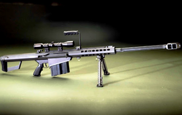 M82A1, Senapan Sniper Berat. Prokimal Online Kotabumi Lampung Utara