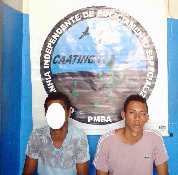 Itiúba: Cipe-Caatinga realiza prisão e apreensão por posse de armas e drogas.