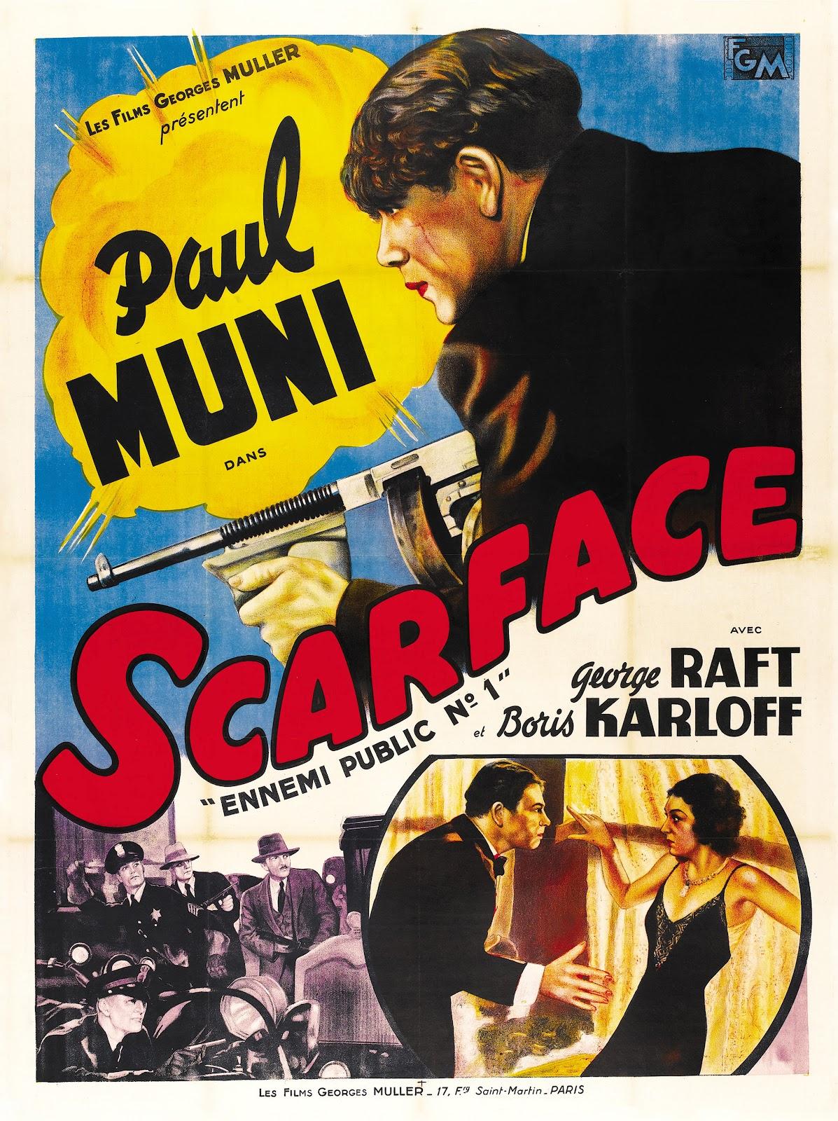 Scarface, El Terror Del Hampa (1932)