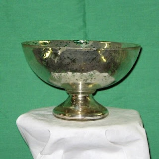 Order Replica Mercury Glass Bowl for Weddings