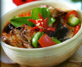 Resep Praktis dan mudah membuat masakan sayur mangut ikan pari enak, lezat
