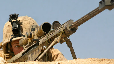 Soldiers army sniper disert