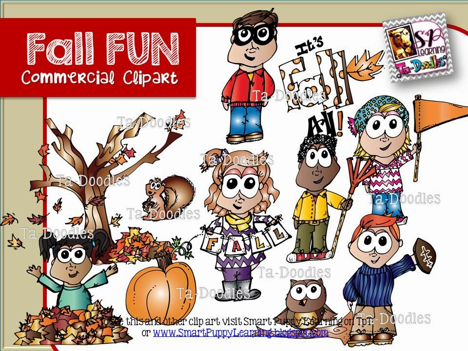 http://www.teacherspayteachers.com/Product/Fall-Kids-Commercial-Clip-Art-1360241