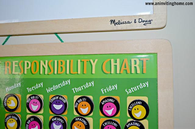 Melissa and Doug Responsibility Chart