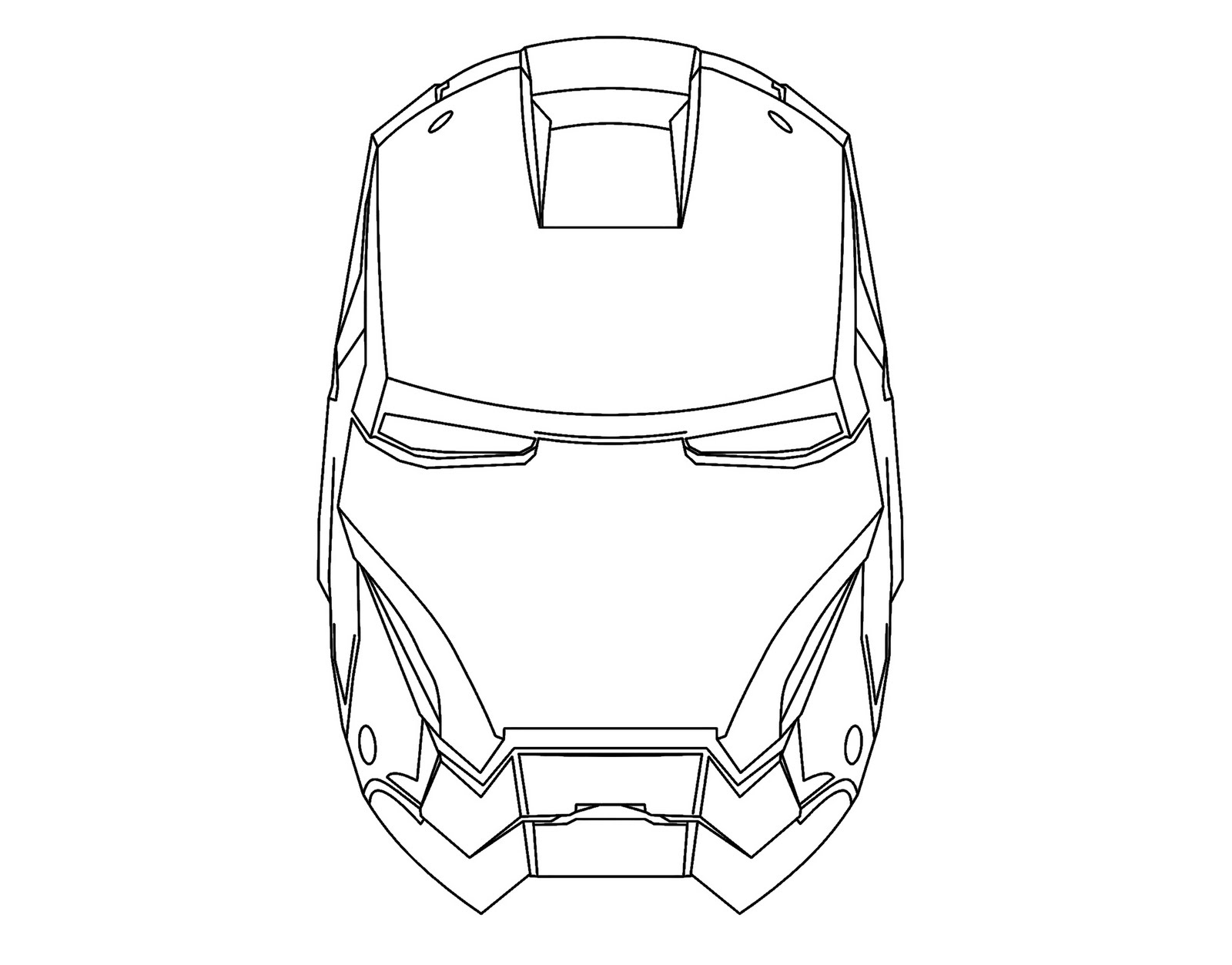 iron man cartoon coloring pages - drawing iron man mask coloring color area