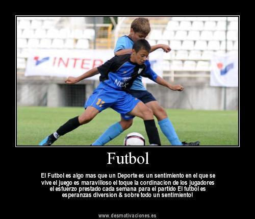 Fútbol y fútbol