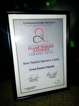 GREAT EASTERN TAKAFUL CERT.