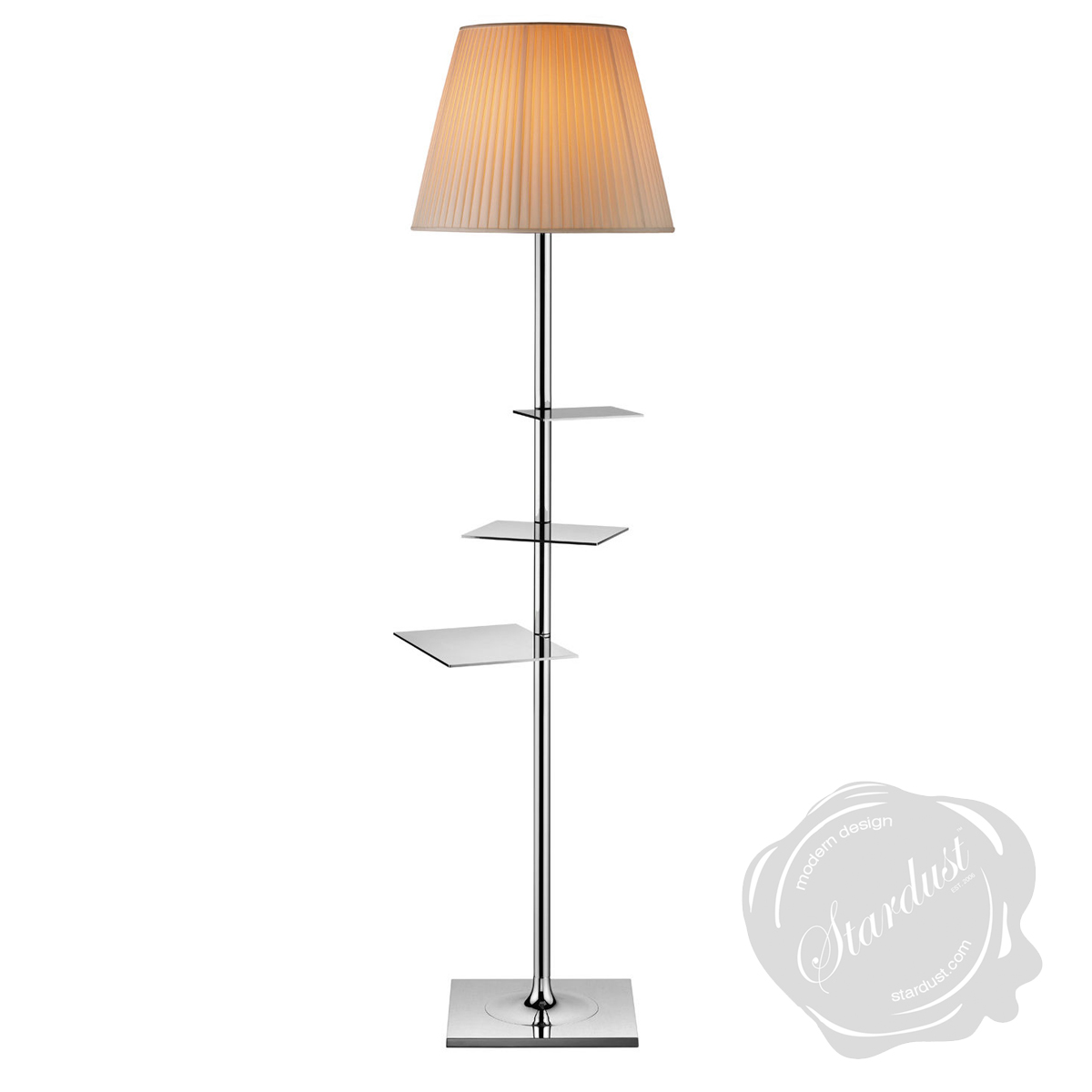 bibliotheque nationale floor lamp by flos lighting. Black Bedroom Furniture Sets. Home Design Ideas