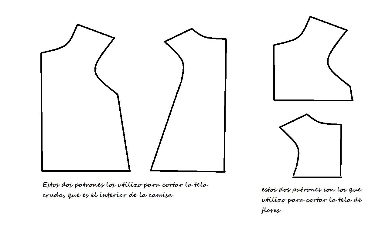 ENTRECOSTURILLAS: hacer blusa niña y bebé paso a paso. Make shirts