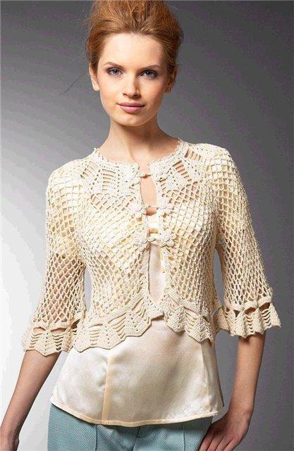 Crochet Cardigan : Crochet Cardigan.