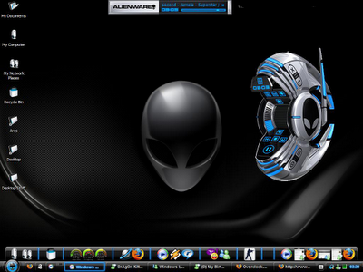 Download Alienware Skin Pack 1.0 Theme For Windows 7