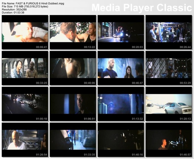 Fast & Furious 6 Hindi Dubbed Download Screenshot 1