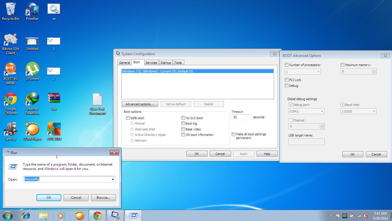 Cara Agar Booting Windows 7 Cepat