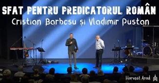 Cristian Barbosu în dialog cu Vladimir Pustan