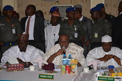 images Northern states of Nigeria governors meeting in Borno state.