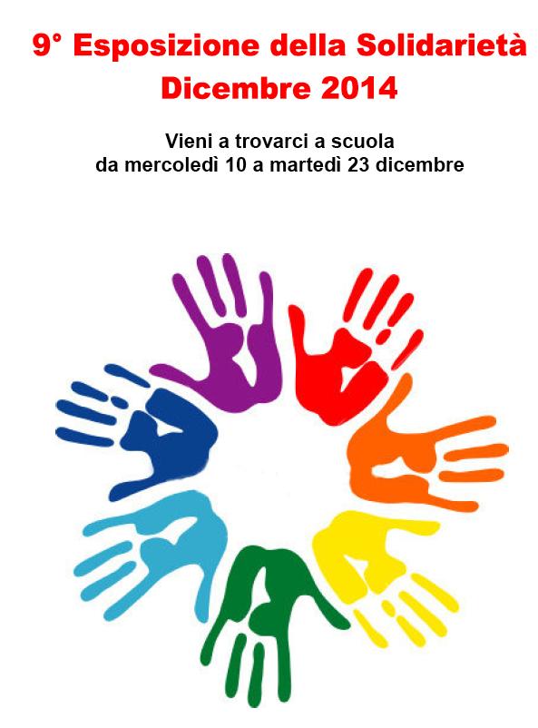 ESPOSIZIONE  DELLA SOLIDARIETA' 2014