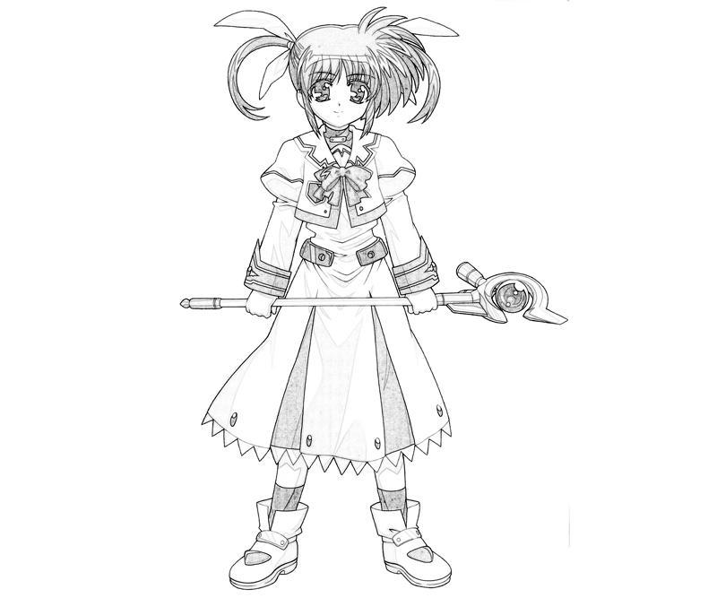 nanoha-takamichi-character-coloring-pages