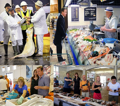 Cameron and fish-shops