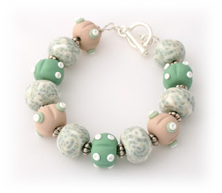 Polymer Clay Bracelet by Lottie of London