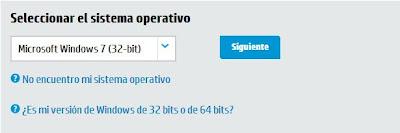 seleccionar el sistema operativo para instalación