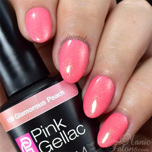 Pink Gellac Glamorous Peach Swatch