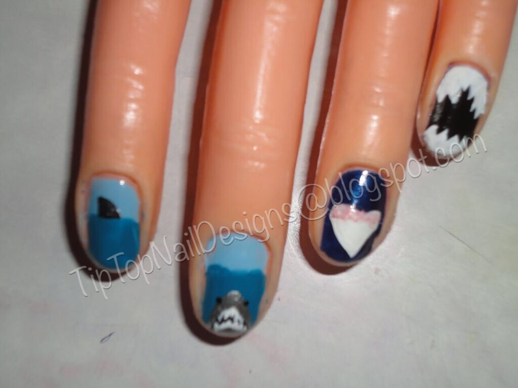 Tip Top Nail Designs Get Out Of The Water