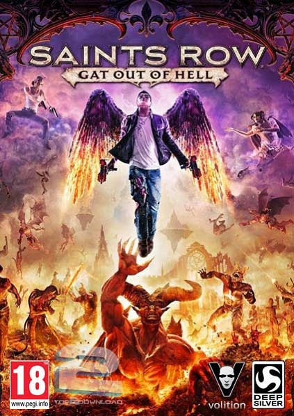 تحميل لعبة Saints Row Gat out of Hell