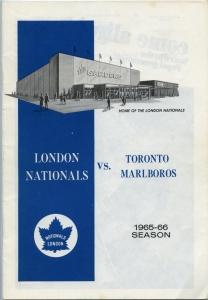 london nationals 1965-66 program