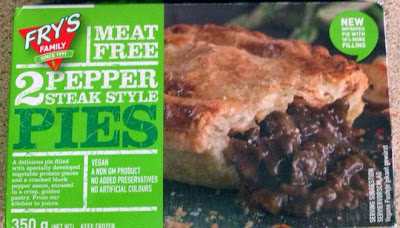 Fry's Vegetarian Vegan Pepper Steak Style Pie Review