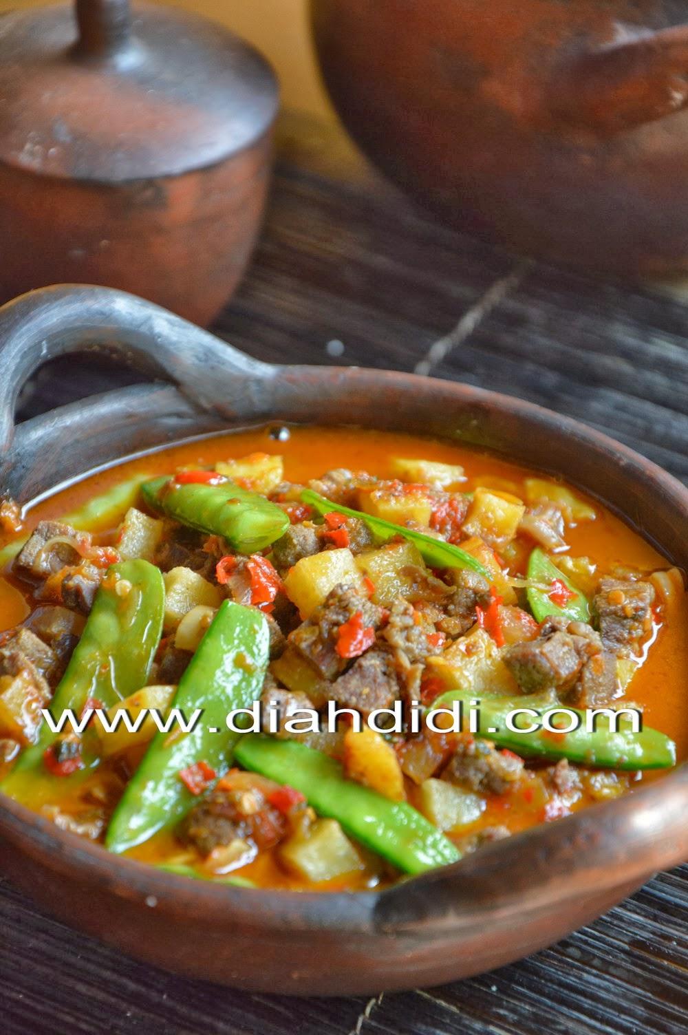 5.657 resep tahu tempe santan ala rumahan yang mudah dan enak dari komunitas memasak terbesar dunia! Diah Didi S Kitchen Sambel Goreng Ati Kapri Kentang