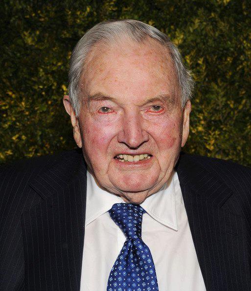 Murió David Rockefeller