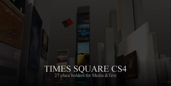 VideoHive Times Square CS4