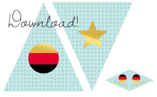 Kostenloser Download Deutschland Wimpel