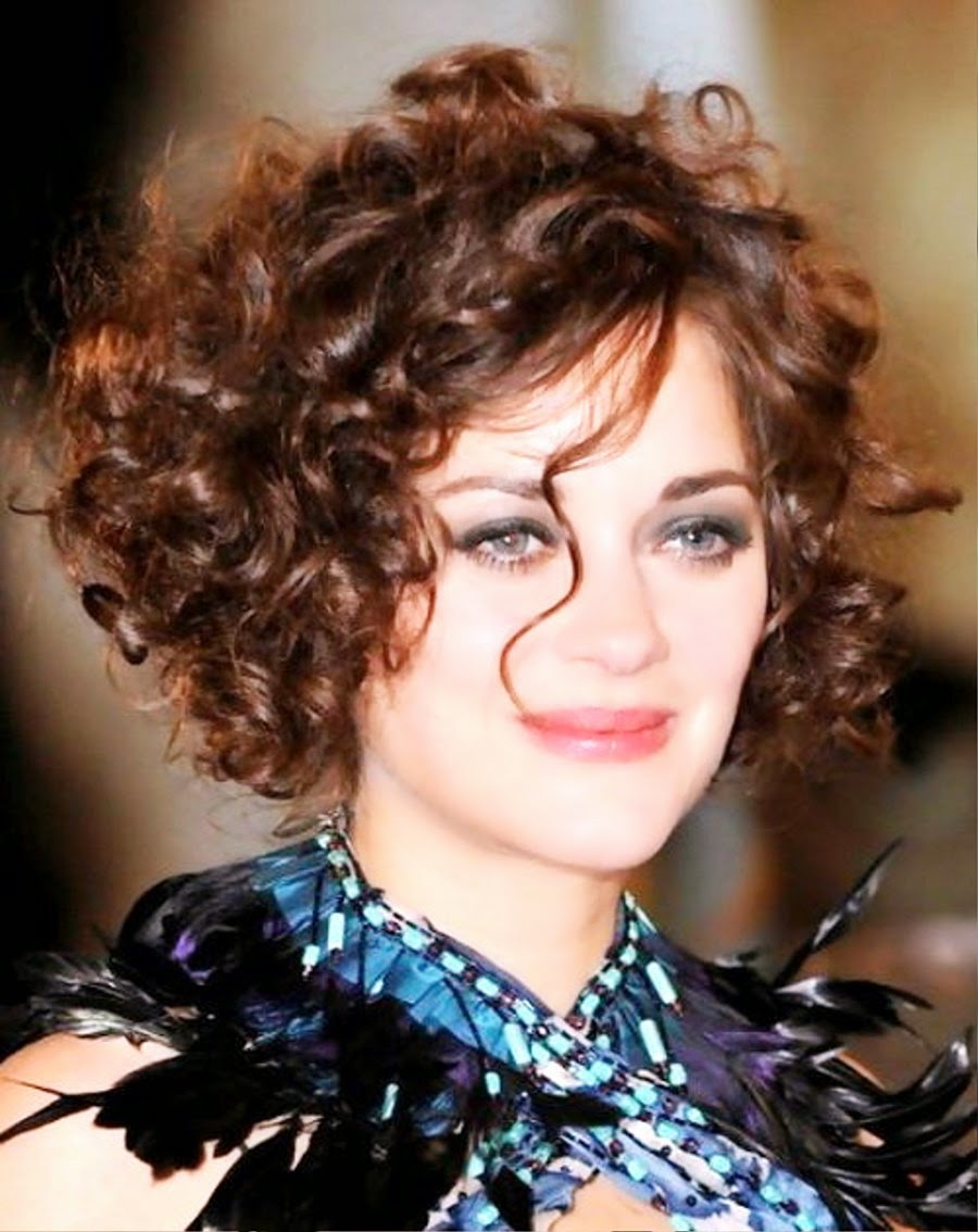 short hairstyles for curly hair Hairstyle Magazine 2012 haircuts