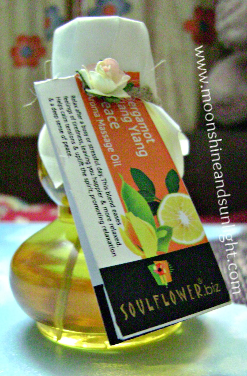 Soulfower Peace Aroma massage oil review