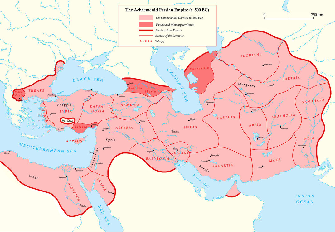 persian empire The achaemenid persian empire was the largest that the ancient world had seen,  extending from anatolia and egypt across western asia to northern india and.