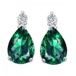 Emerald  Ear Ring