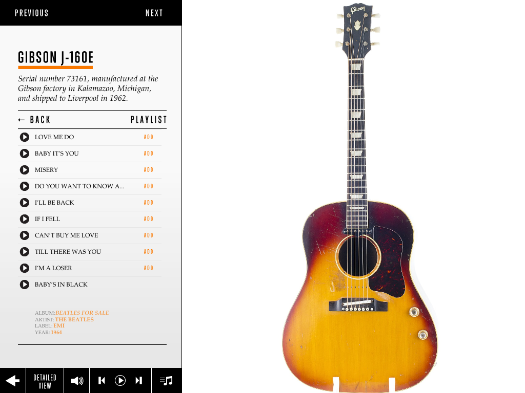 The Showbiz Kids: George Harrison: The Guitar Collection