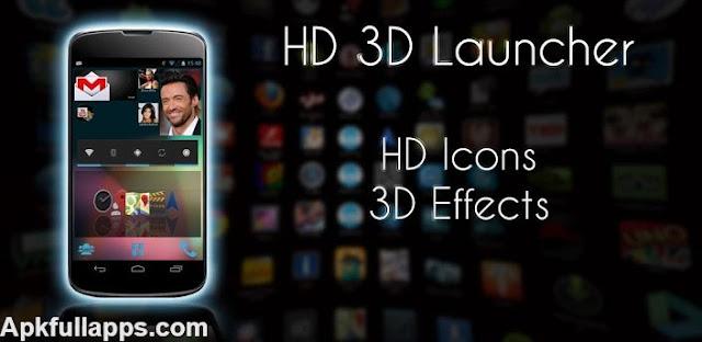 HD 3D Launcher PRO v1.1.2