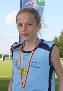 """championne régionale du 50m en 7""""00"""