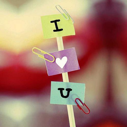 Stylish & Awsome DP's COrner : I Love You DP