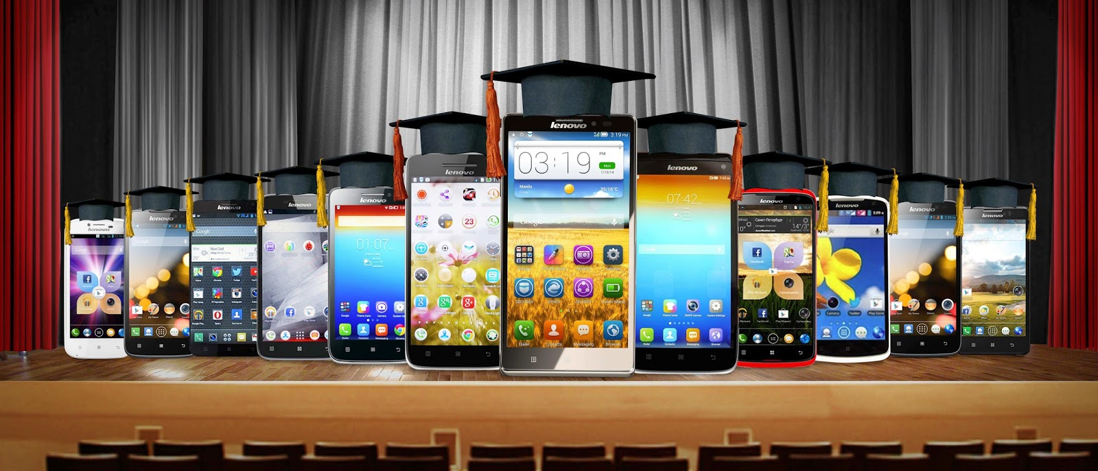 Promo Alert Help Graduates Level Up With A Lenovo Smartphone S650 Android Quadcore Graduation Gift Guide