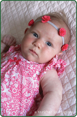 Newborn Girl Headband Ideas