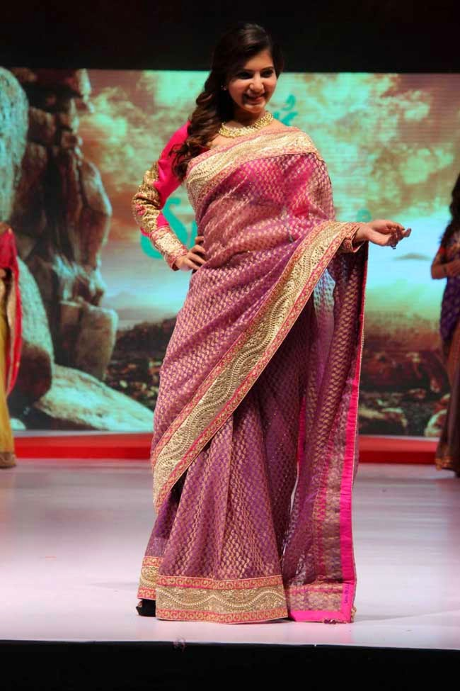 Samantha Ruth Prabhu In Saree