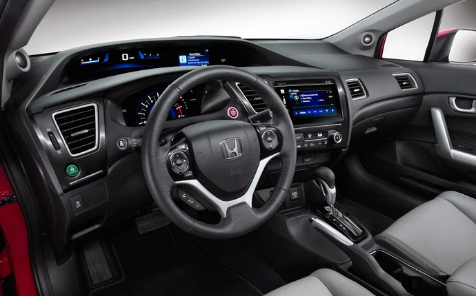 2016 Honda Civic Si Interior