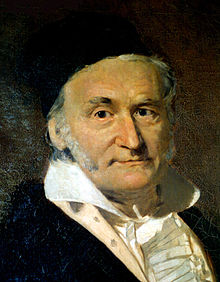 Portrait de Johann Carl Friedrich Gauss