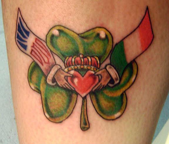tatuaje irlandes